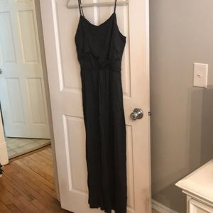 Gap dark grey maxi dress